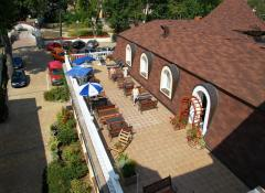 Summerterrace for your chill out time, recreation - break in Spa house Erika